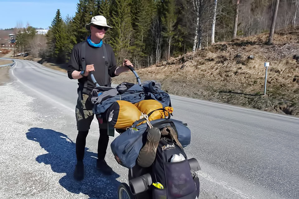 Across Europe With His Roadturtle