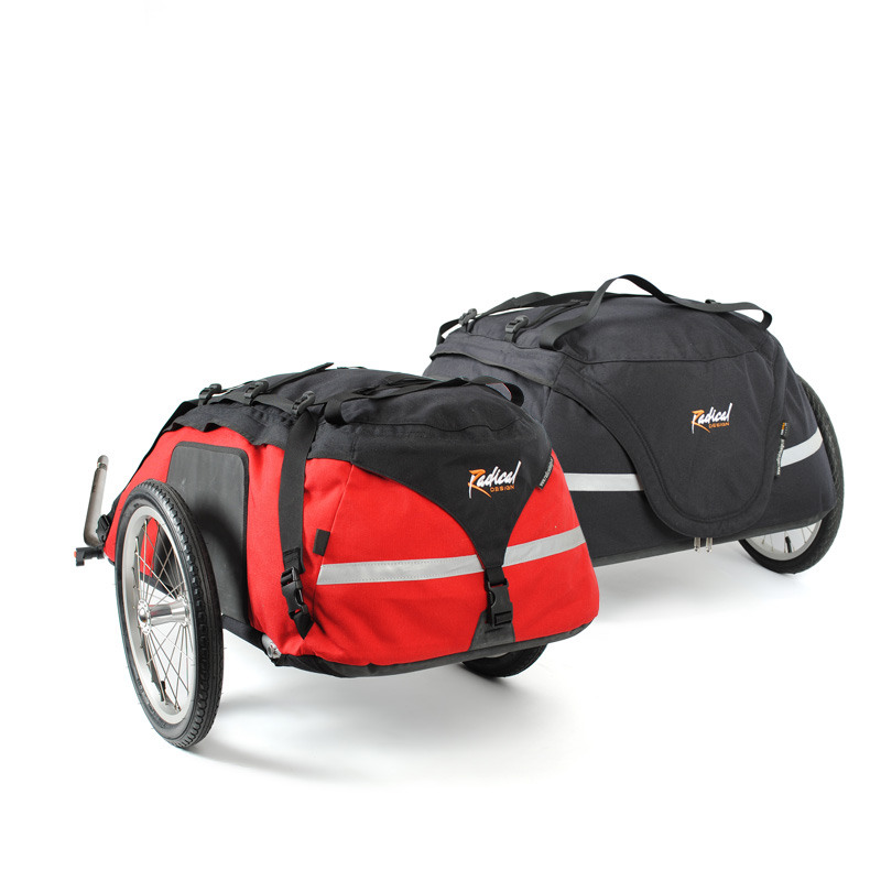 Cyclone bicycle trailers