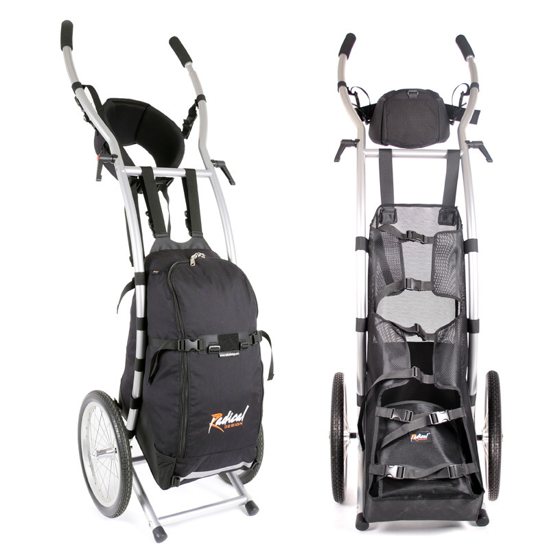 Wheelie walking trailers