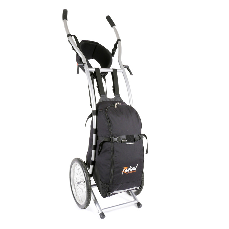 Wheelie V Traveller HD walking trailer