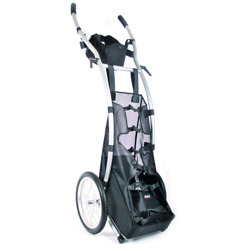 Wheelie V Cargo walking trailer