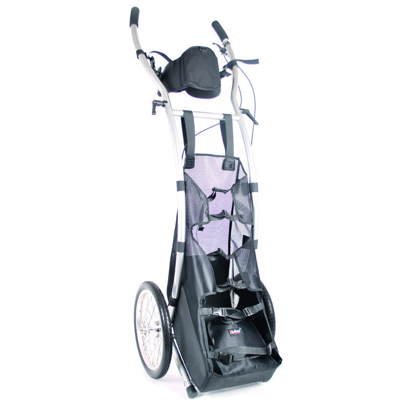 Wheelie V Cargo walking trailer braked
