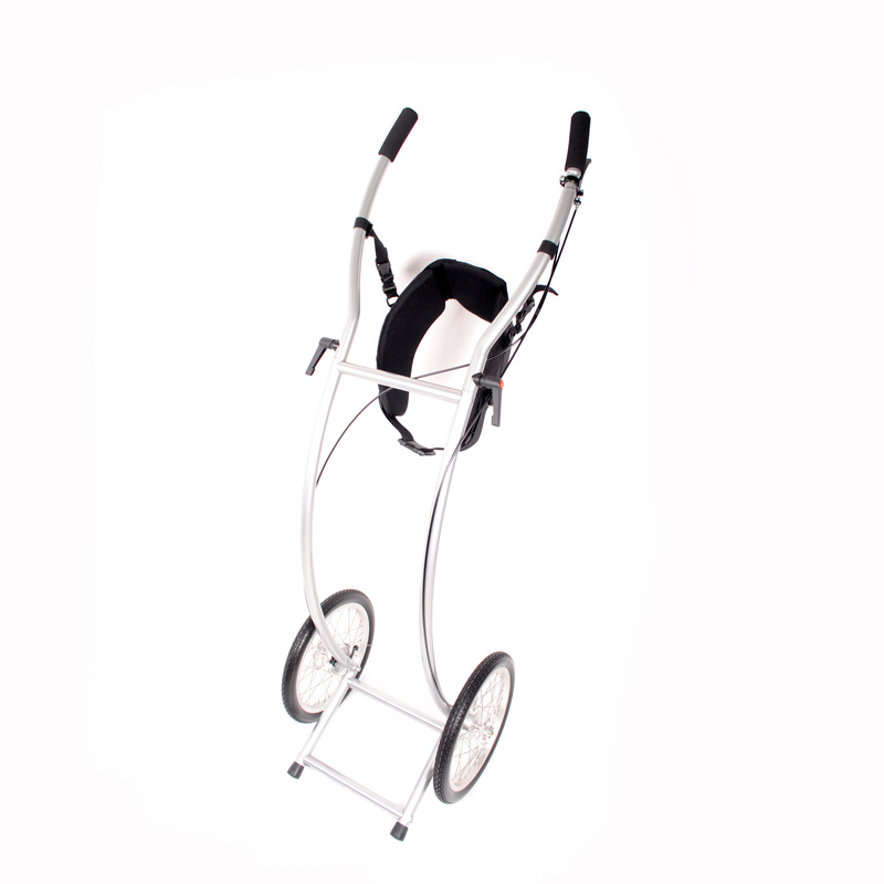 21058 Wheelie5 Skeleton Braked Walkingtrailer 2