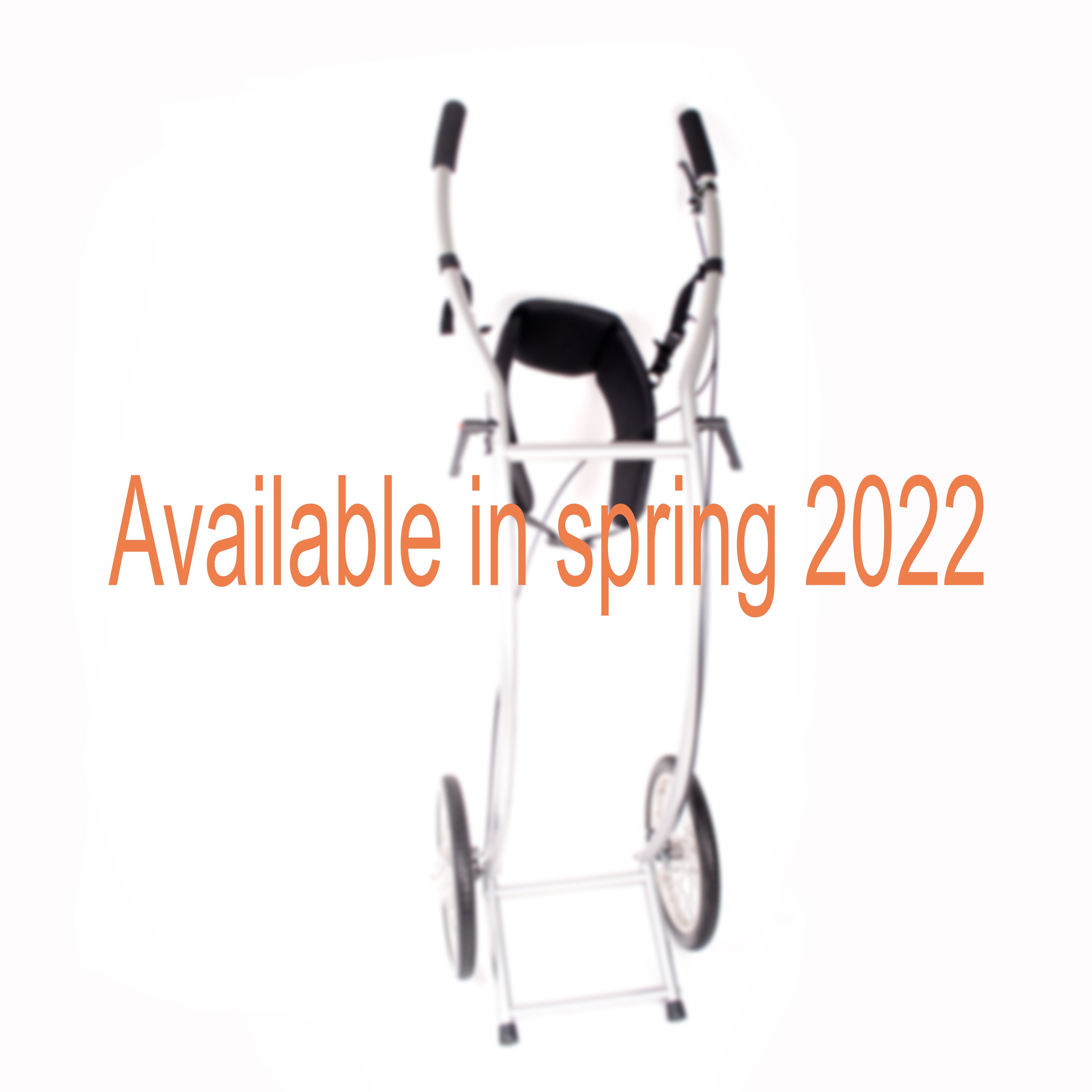 Wheelie V Skeleton walking trailer braked