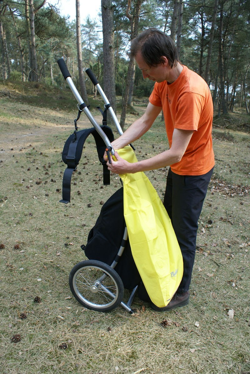 21207 Rain Cover Wheelie4 Walkingtrailer 3