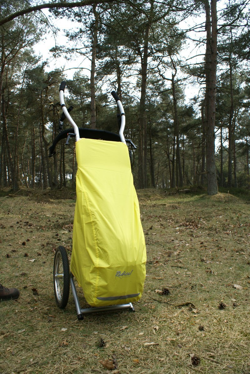 21207 Rain Cover Wheelie4 Walkingtrailer 6