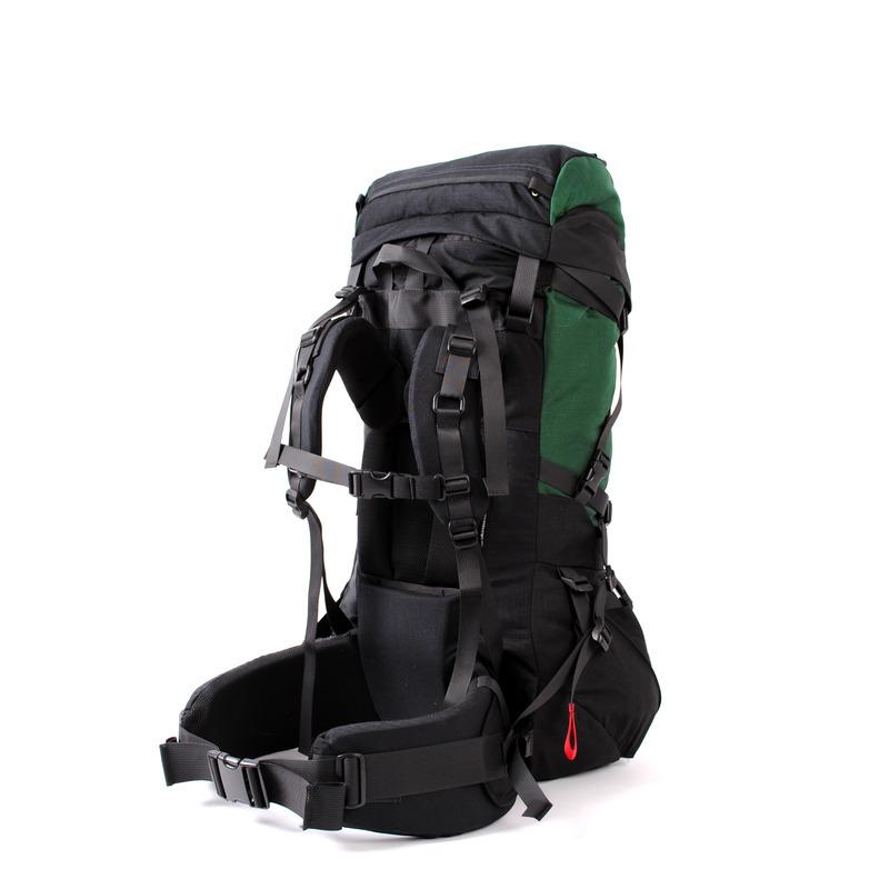 30001 Pulsar75 Expedition Backpack Green Back