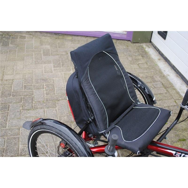 Kettwiesel Recumbent Bag On Bike