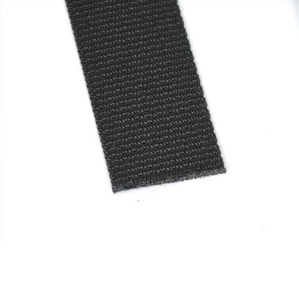 Polyester webbing black