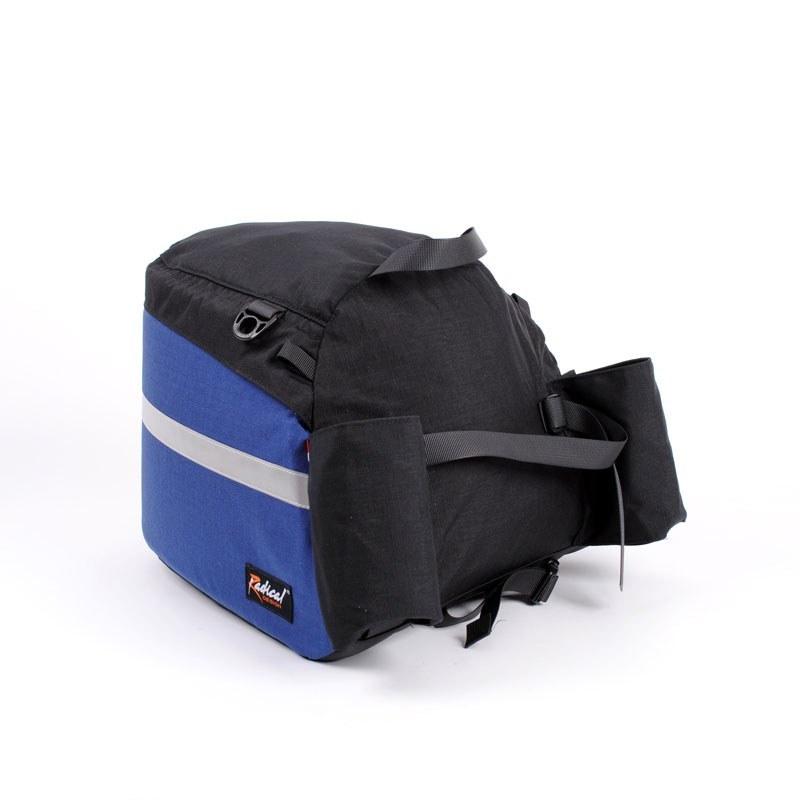 Rack Bag Extended Recumbent Bag Rear Side
