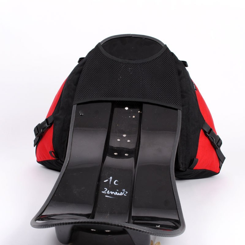 Solo Racer Wide Recumbent Bag On Seat