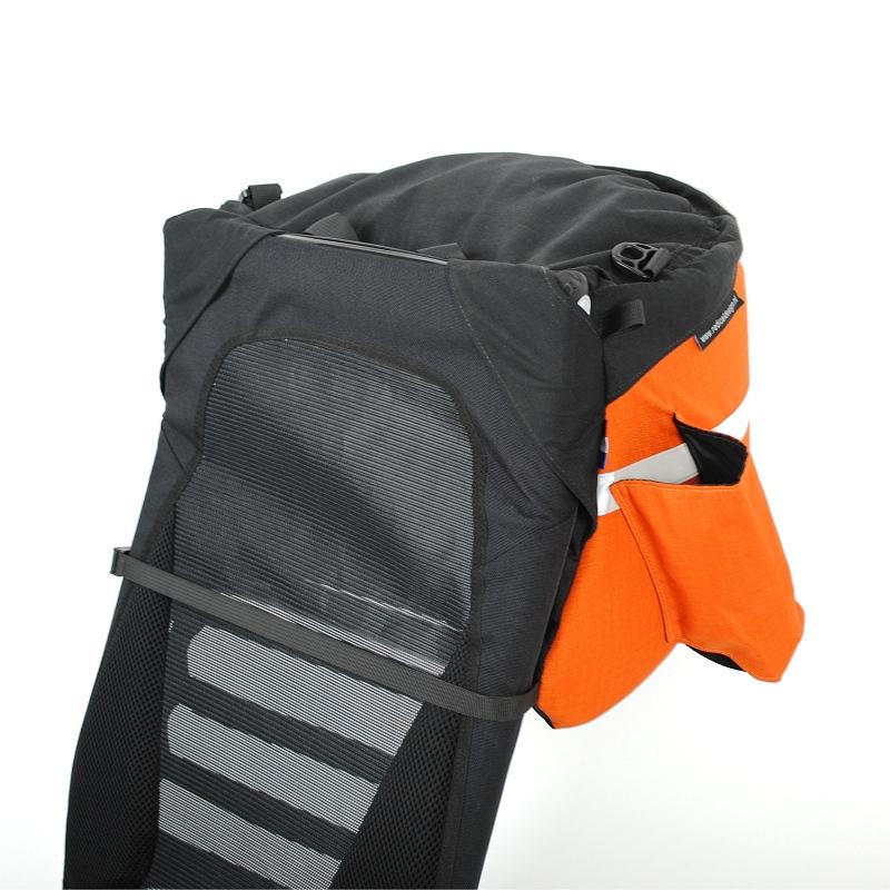 Universal Aero Recumbent Bag On Seat