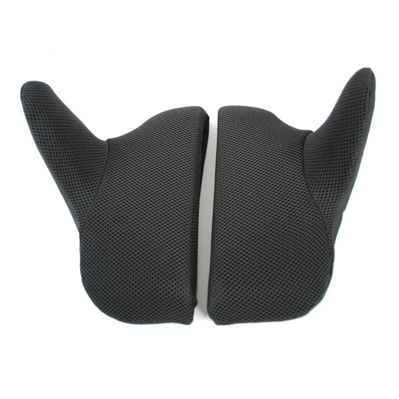 Split wheelchair back support