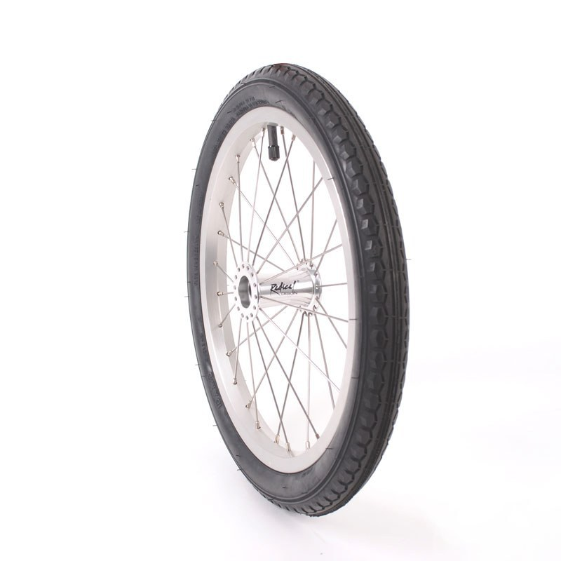 Wheel 40-355 with pneumatic tire (Birdy)