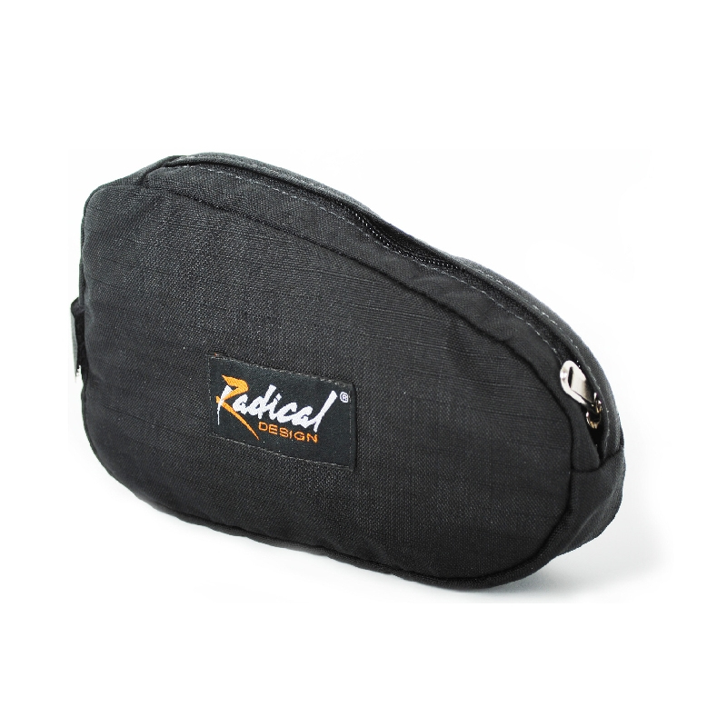 Wheelie hip belt pouch