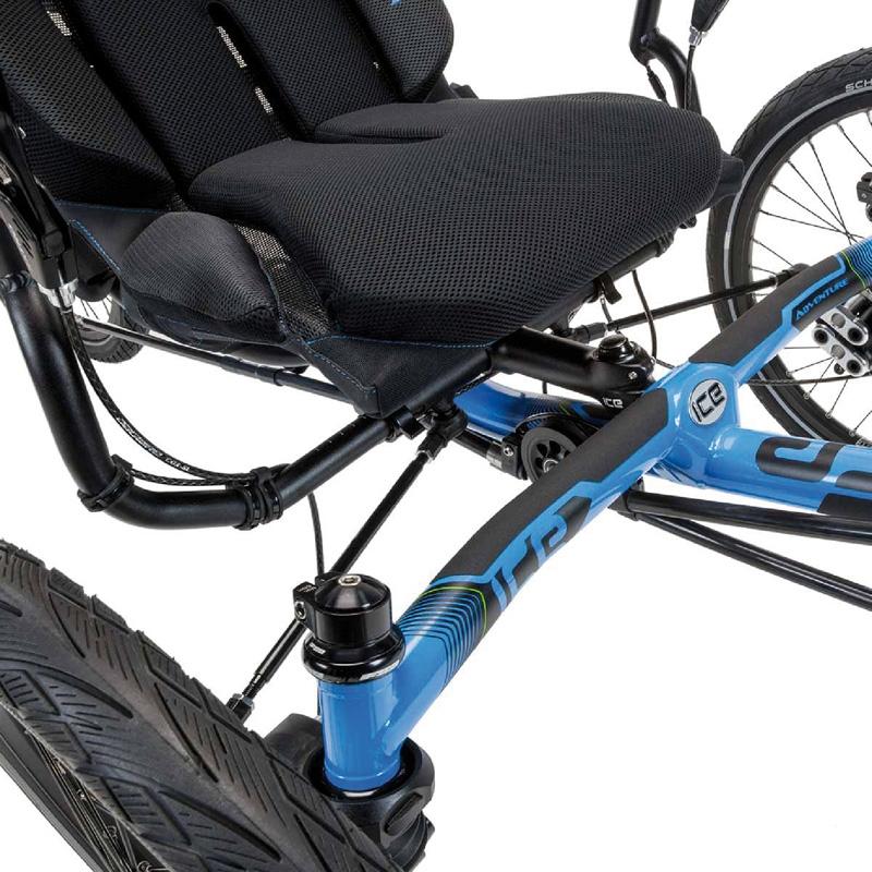 ICE Ergo Luxe mesh seats